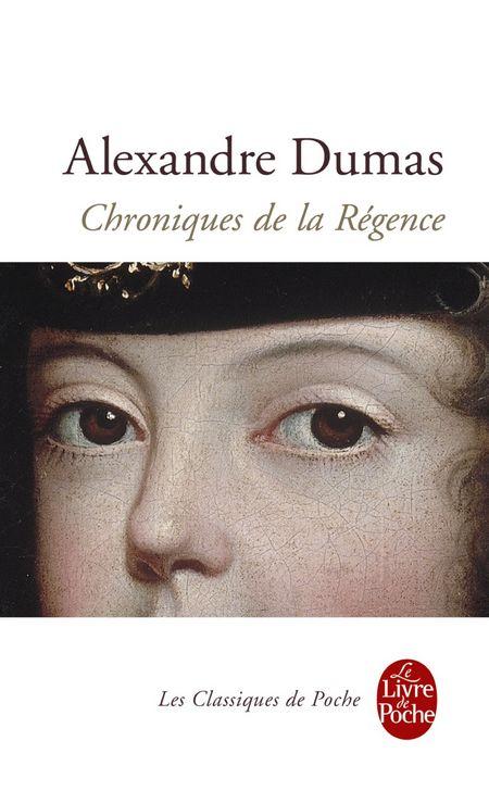 couv Chroniques de la Régence Dumas
