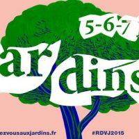 Rendez-vous aux jardins édition 2015
