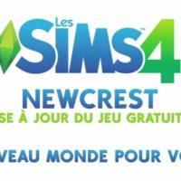 Un nouveau monde gratuit dans Les Sims 4 : Newcrest