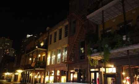 Vieux carré le soir