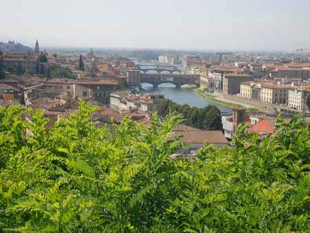 Vue de Florence depuis la Piazzale Michelangelo