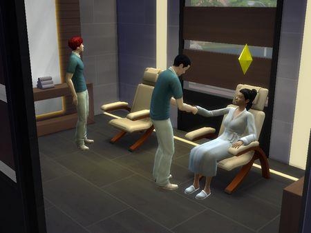 Capture Les Sims 4 détente spa 6