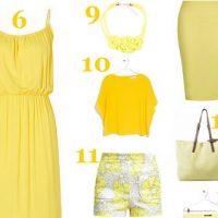 Mode : notre sélection jaune tendance