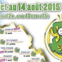 Yonne Tour Sport fête ses 10 ans du 06/07 au 14/08