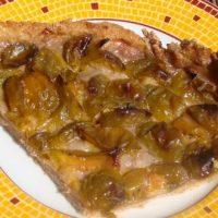 Tarte aux prunes légère, sans gluten ni beurre !