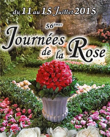 Journées de la rose à Doué-la-Fontaine