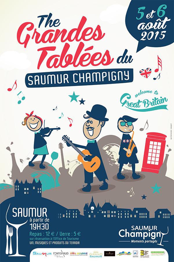 Les Grandes tablées de Saumur-Champigny