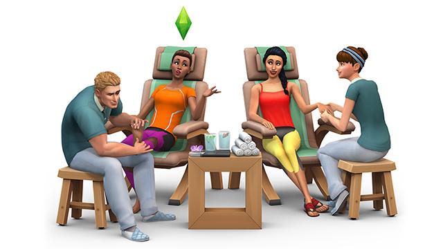 Les Sims 4 Détente au spa 4