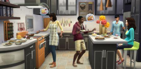 Les Sims 4 En cuisine 3