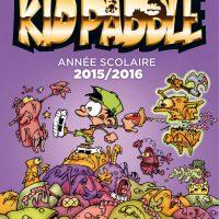 Rentrée 2015/16 : l'agenda Kid Paddle disponible