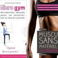 4 livres pour faire du sport à la maison et à l'extérieur