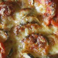 Recette de gratin de courgettes et tomates