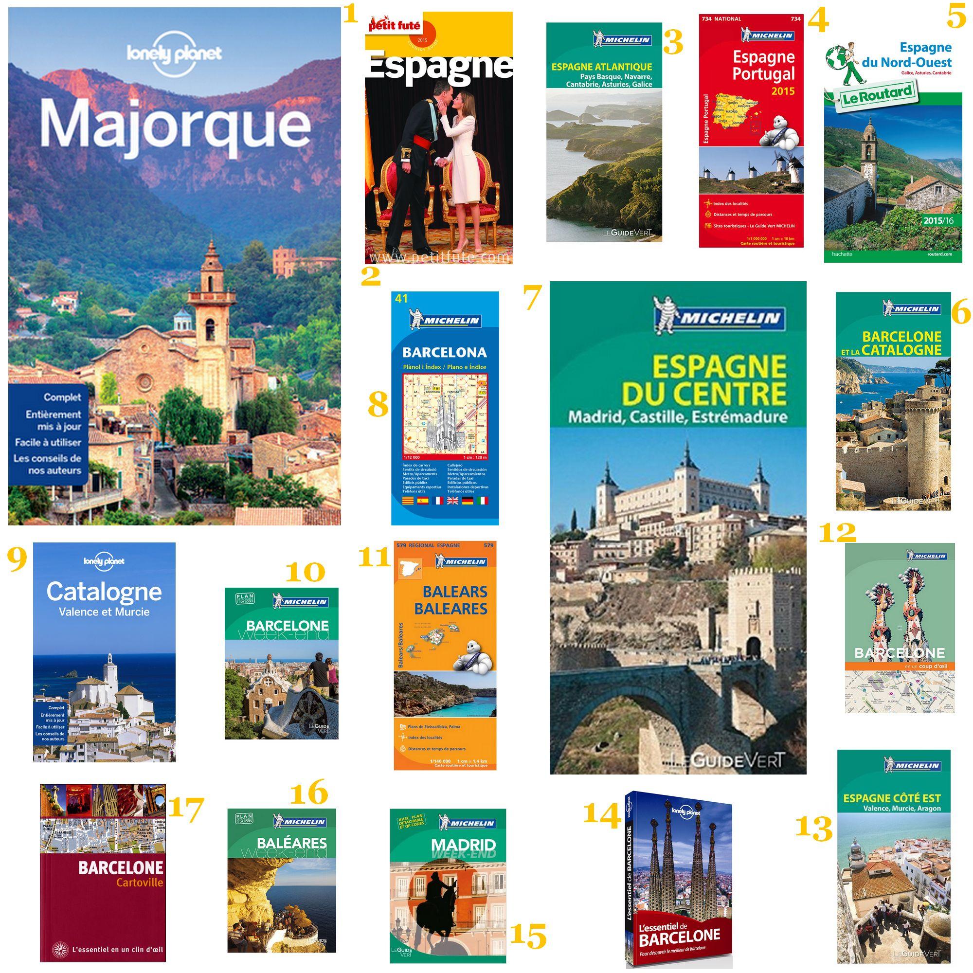 Sélection guides et cartes 8 choses à voir faire en Espagne