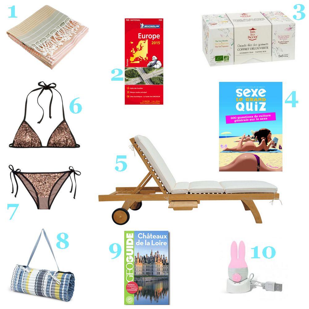 Sélection shopping 10 choses à faire pendant les vacances