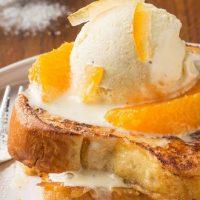 Brioche perdue orange - vanille