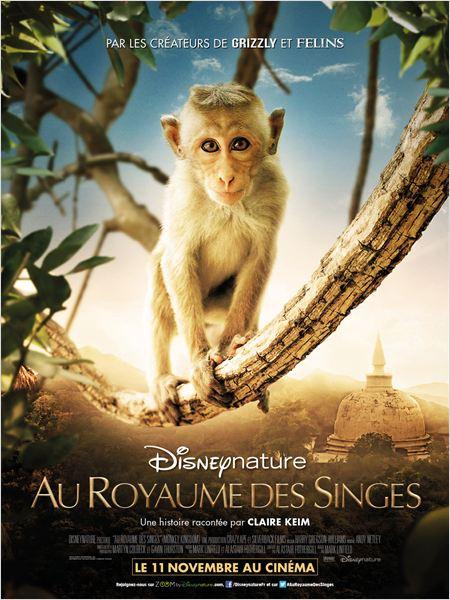 Au royaume des singes affiche
