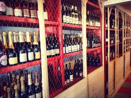 cave à vin trinquet bordelais