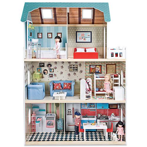Maison de poupées en bois Amanda Family
