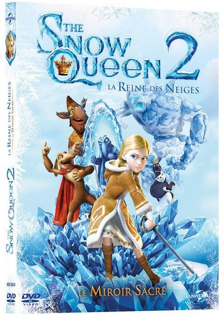 DVD The Snow Queen 2, La Reine des Neiges : Le Miroir Sacré