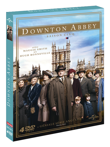 Coffret DVD Dowton Abbey saison 5