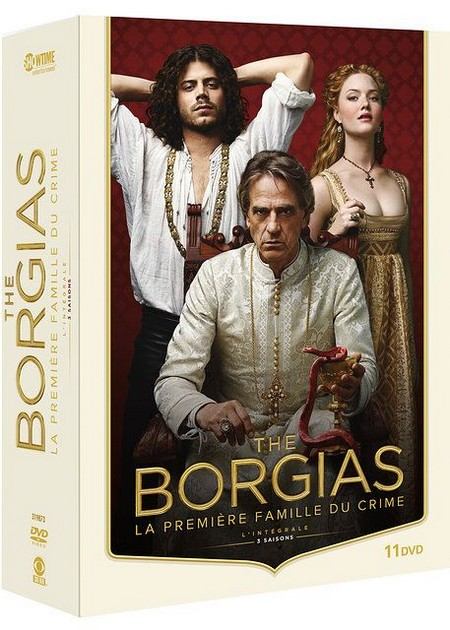 The Borgias l'intégrale en DVD