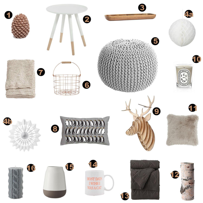 Déco notre sélection hiver de style scandinave