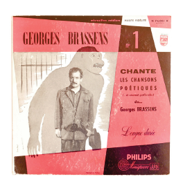 Disque Vinyl Georges Brassens