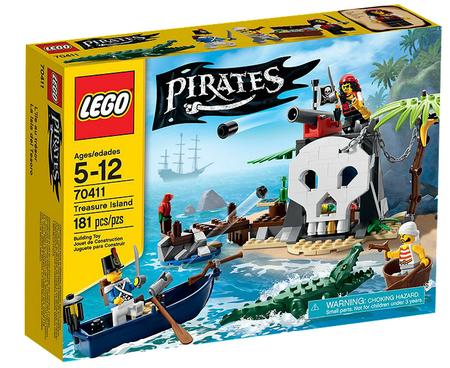 Légo Pirates L'île au trésor