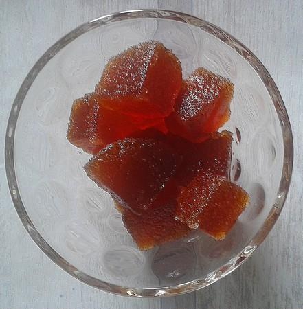 Pâtes de fruit à l'orange maison