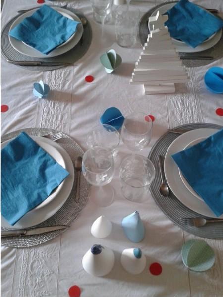 Une table de fête d'inspiration nordique