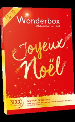 Wonderbox Joyeux Noël