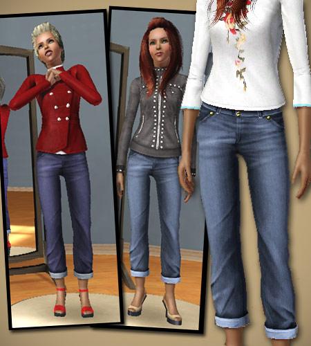 jean Les Sims 3