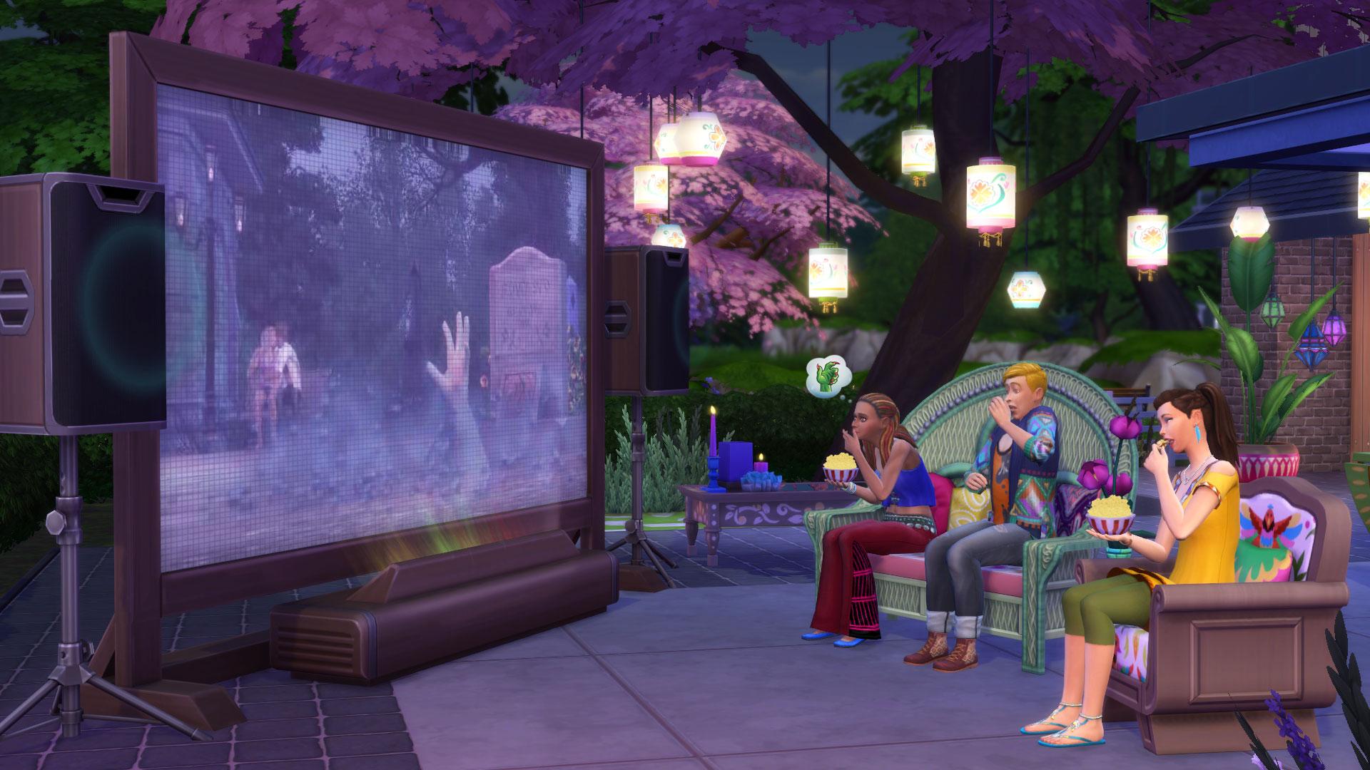 Les Sims 4 Comme au cinéma 2