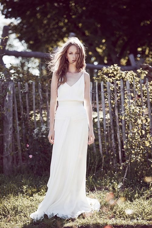 robe de mariée Delphine Manivet.