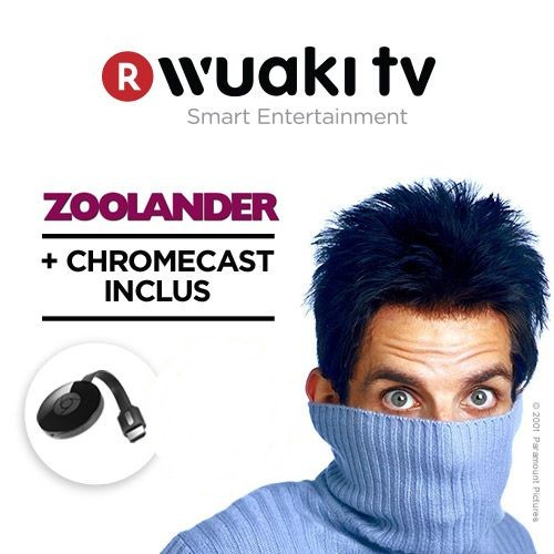 Chromecast 2 + film Zoolander