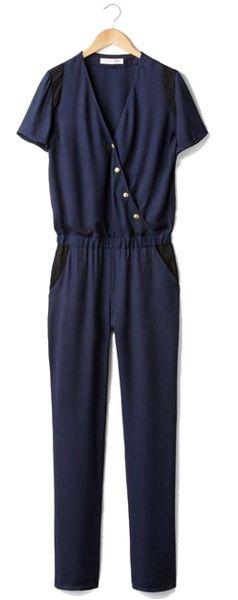 Combinaison pantalon crêpe La Redoute