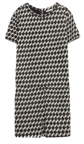 Combinaison short jacquard Zara