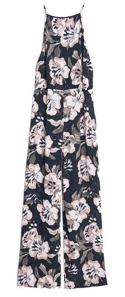 Combinaison pantalon imprimé floral Mango