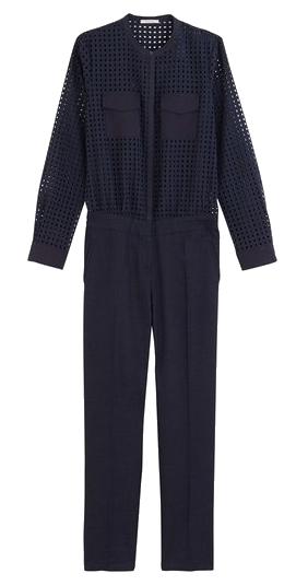 Combinaison pantalon broderie anglaise Promod