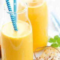Smoothie carottes, pommes et miel