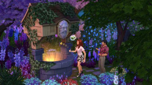 Les Sims 4 Jardin romantique 2
