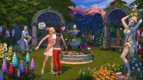 Les Sims 4 Jardin romantique 3