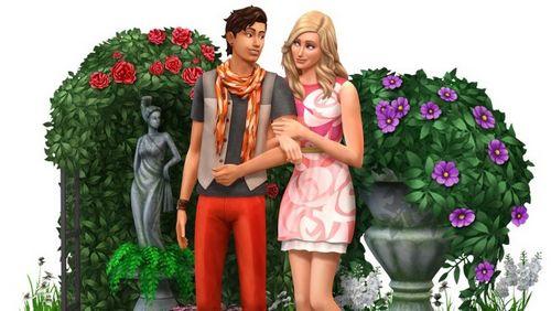 Les Sims 4 Kit d'Objets Jardin Romantique
