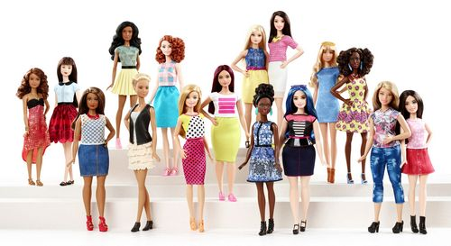 Barbie change de taille
