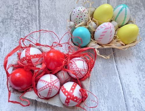 DIY des jolis œufs de Pâques