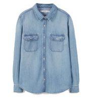 La chemise en jean : l'intemporel indispensable