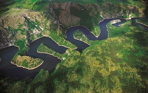 Les Gorges de l'Uvac - Serbie