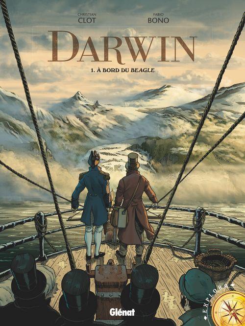 Darwin – Tome 1. A bord du Beagle de Clot – Bono