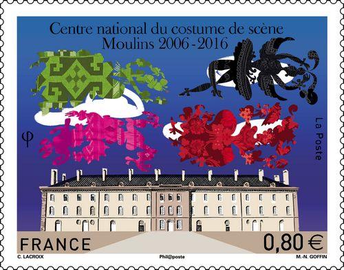 Timbre Moulins Christian Lacroix