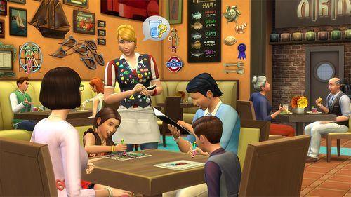 Les Sims 4 Au restaurant